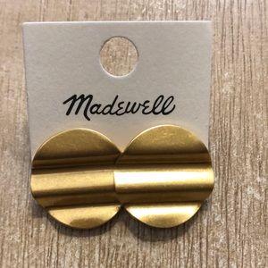 Madewell Wave Disc Earrings NWT